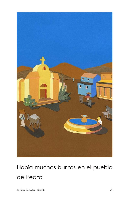 Book Preview For Pedro's Burro Page 3
