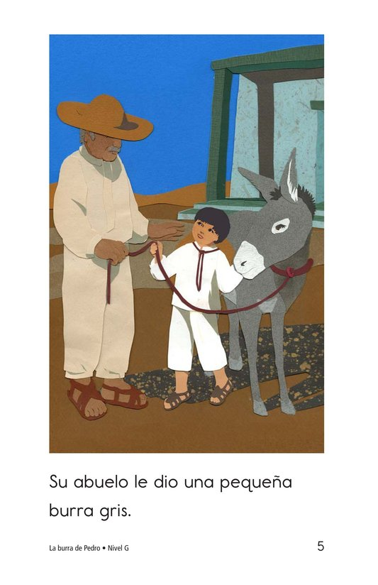 Book Preview For Pedro's Burro Page 5