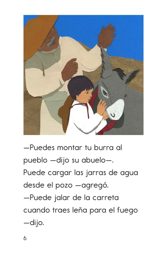 Book Preview For Pedro's Burro Page 6