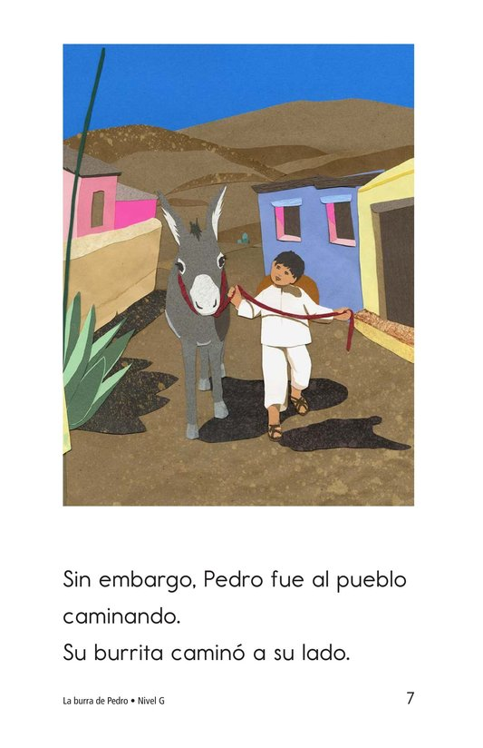 Book Preview For Pedro's Burro Page 7