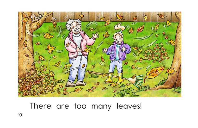 Book Preview For Too Many Leaves Page 10