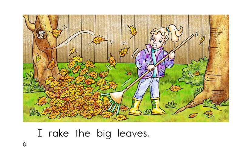 Book Preview For Too Many Leaves Page 8