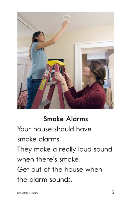 Book Preview For Fire Safety Page 5