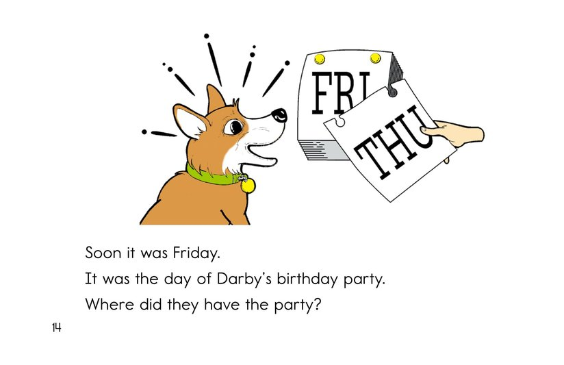 Book Preview For Darby's Birthday Party Page 14