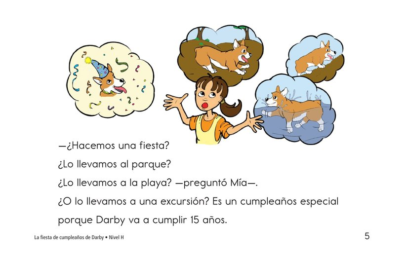 Book Preview For Darby's Birthday Party Page 5