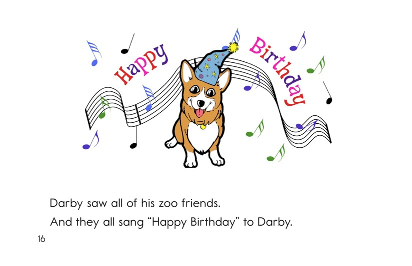 Book Preview For Darby's Birthday Party Page 16
