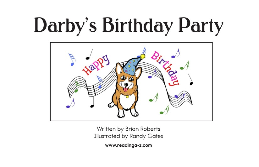 Book Preview For Darby's Birthday Party Page 2