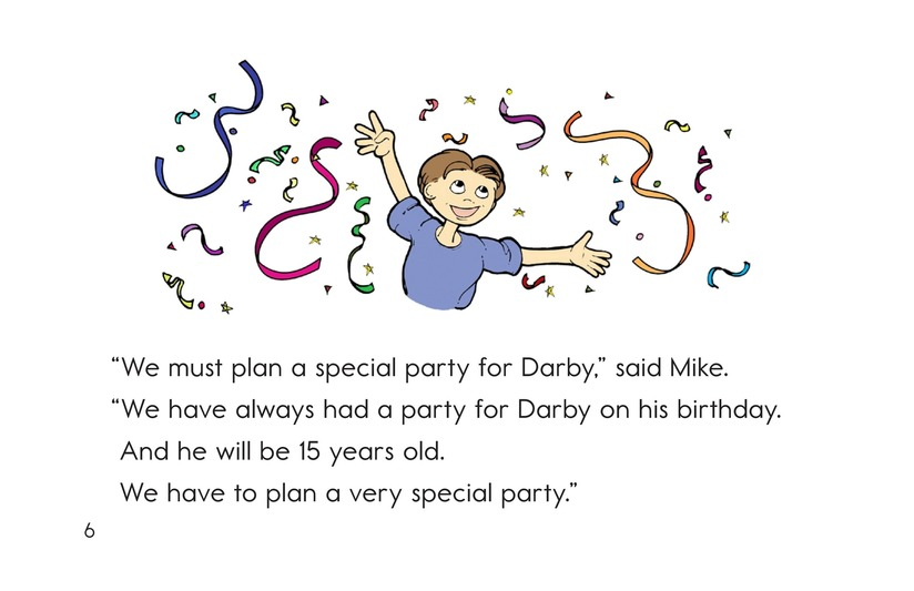 Book Preview For Darby's Birthday Party Page 6