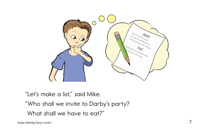 Book Preview For Darby's Birthday Party Page 7