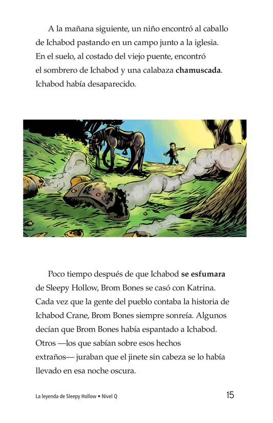 Book Preview For The Legend of Sleepy Hollow Page 15