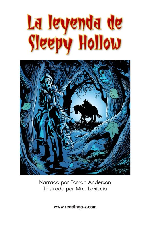 Book Preview For The Legend of Sleepy Hollow Page 2