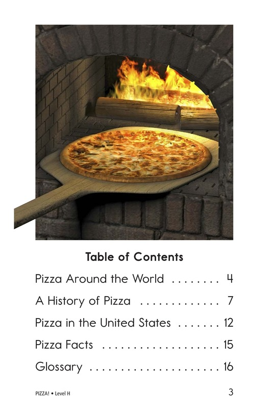 Book Preview For PIZZA! Page 3