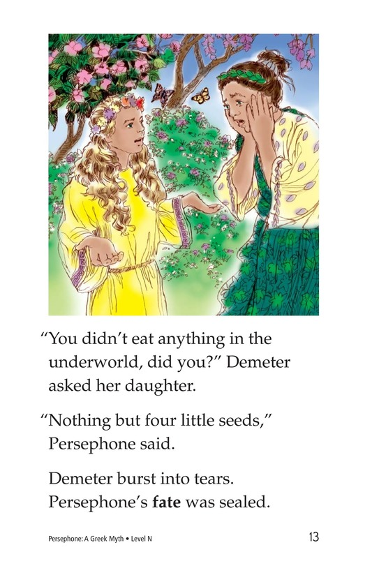 Book Preview For Persephone: A Greek Myth Page 13