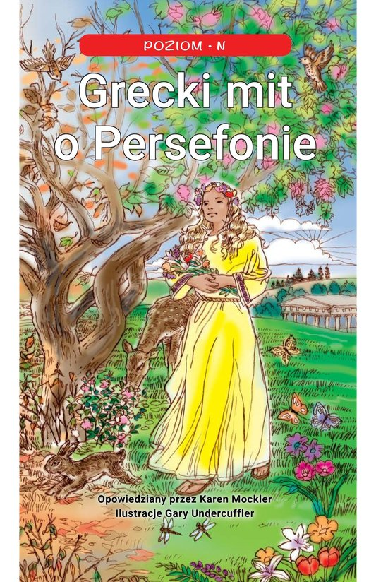 Book Preview For Persephone: A Greek Myth Page 1
