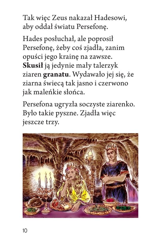 Book Preview For Persephone: A Greek Myth Page 10