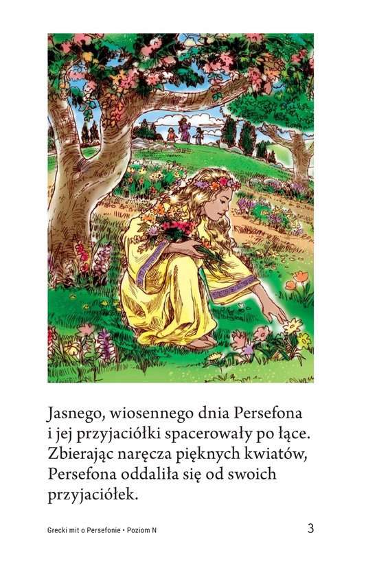 Book Preview For Persephone: A Greek Myth Page 3