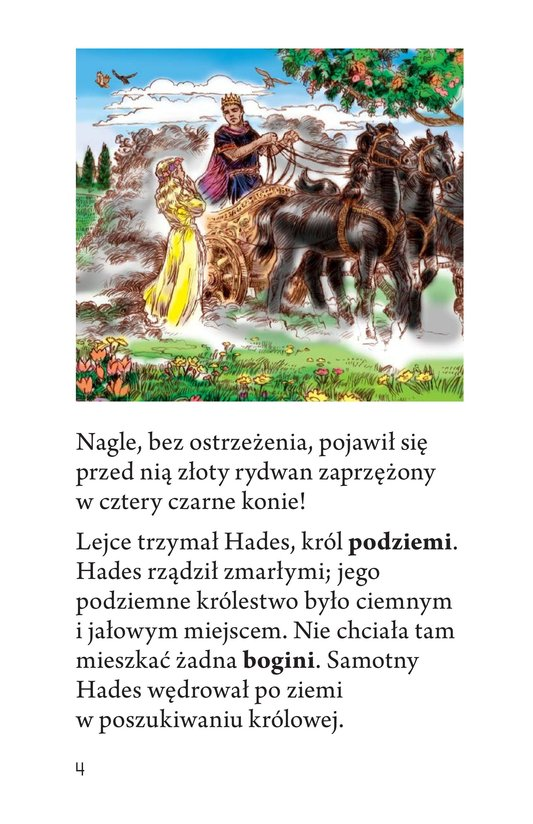 Book Preview For Persephone: A Greek Myth Page 4