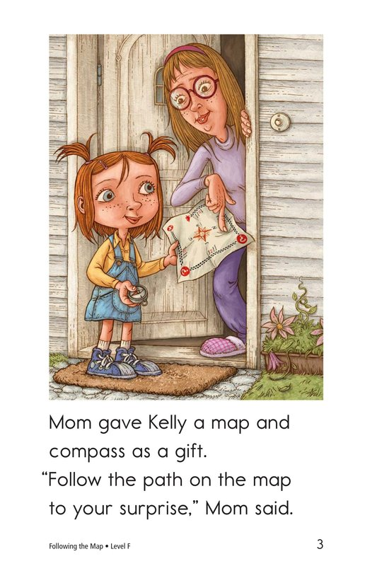 Book Preview For Following the Map Page 3