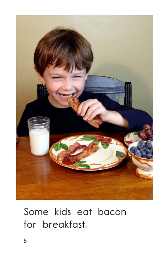 Book Preview For What's for Breakfast? Page 8