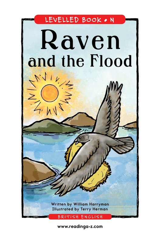 Book Preview For Raven and the Flood Page 1