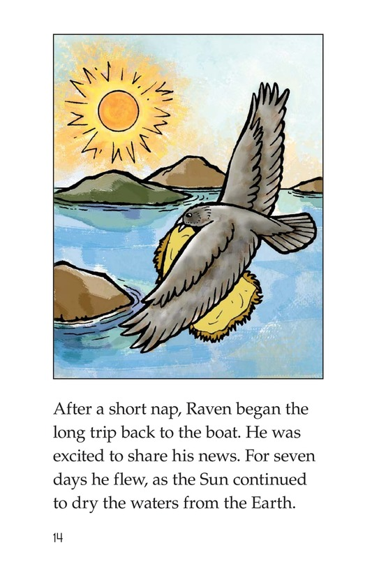 Book Preview For Raven and the Flood Page 14