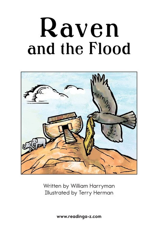 Book Preview For Raven and the Flood Page 2