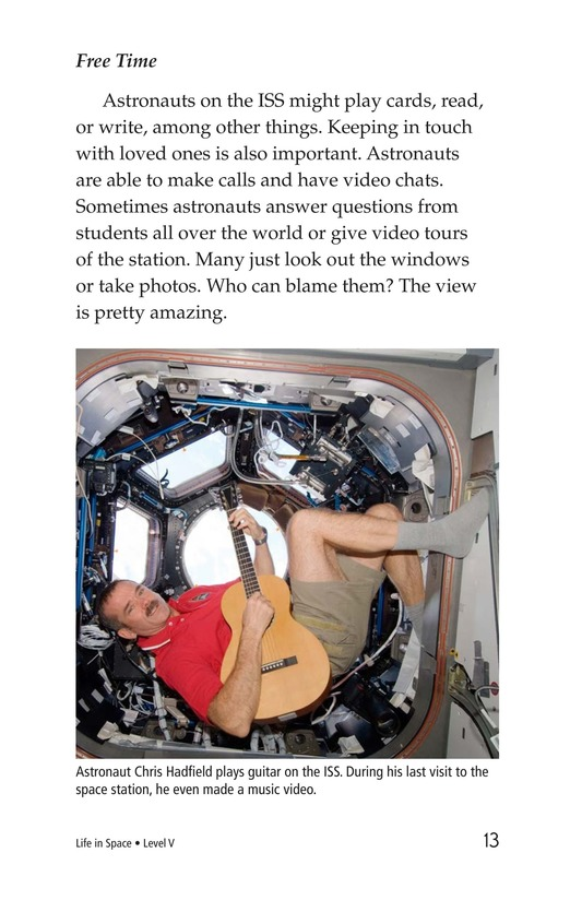 Book Preview For Life in Space Page 13
