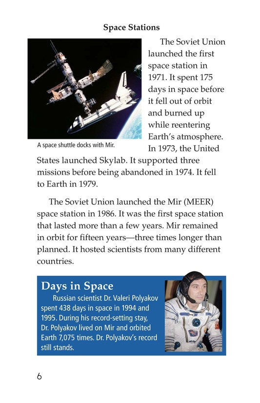 Book Preview For Life in Space Page 6