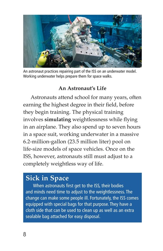 Book Preview For Life in Space Page 8