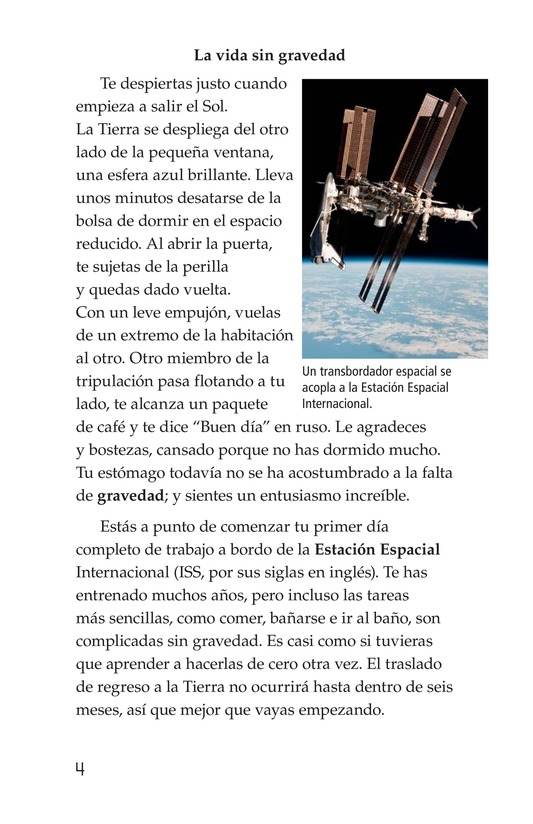 Book Preview For Life in Space Page 4