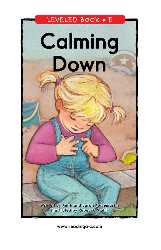 Book Preview For Calming Down Page 1