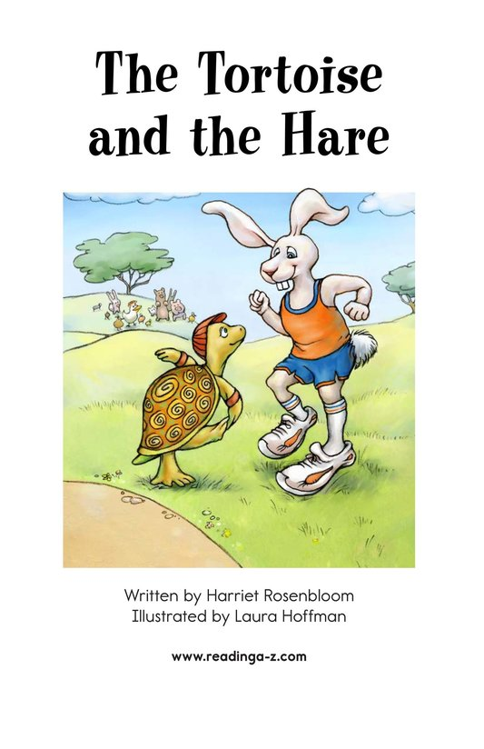 Book Preview For The Tortoise and the Hare Page 2