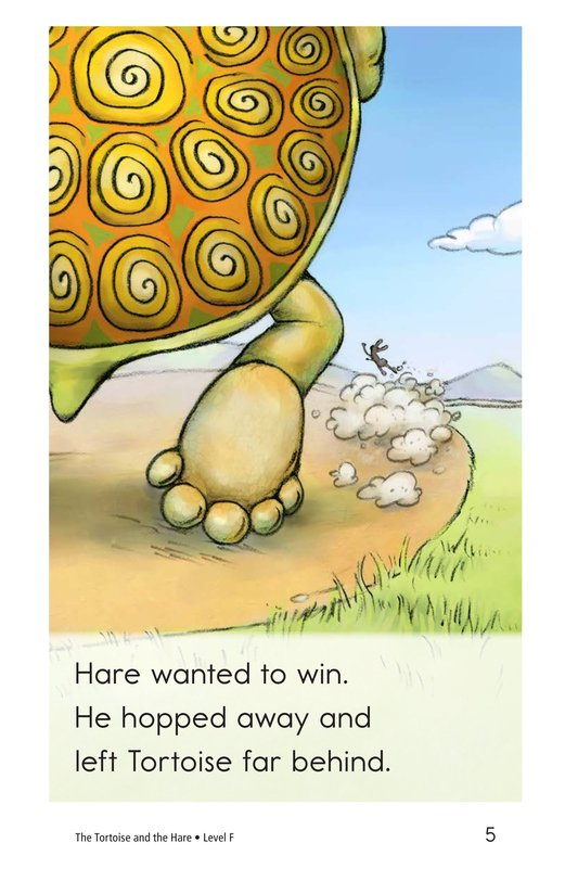 Book Preview For The Tortoise and the Hare Page 5