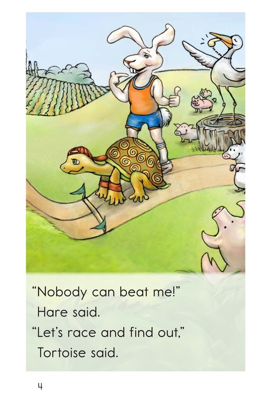 Book Preview For The Tortoise and the Hare Page 4