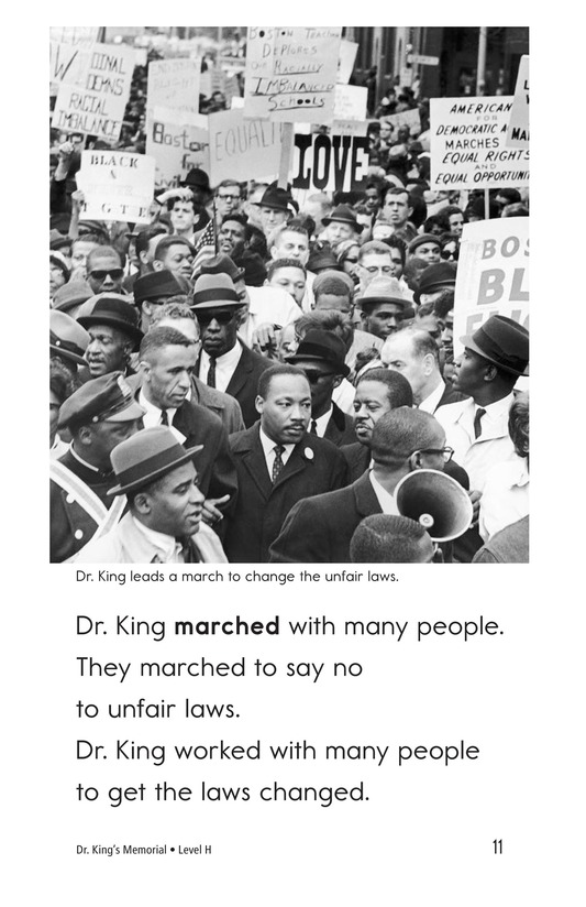 Book Preview For Dr. King's Memorial Page 11