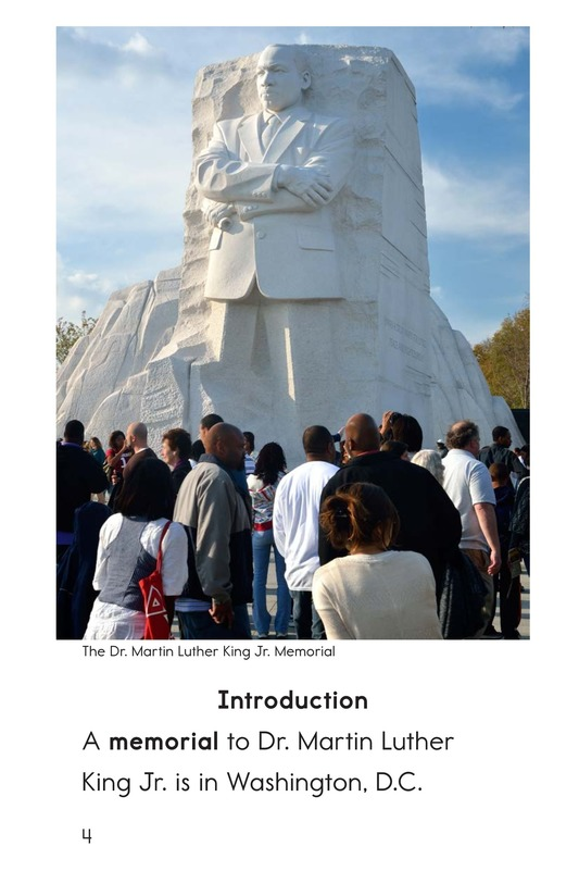 Book Preview For Dr. King's Memorial Page 4