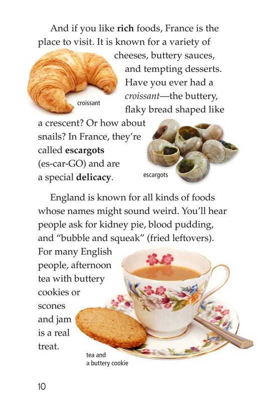 Book Preview For Foods Around the World Page 10
