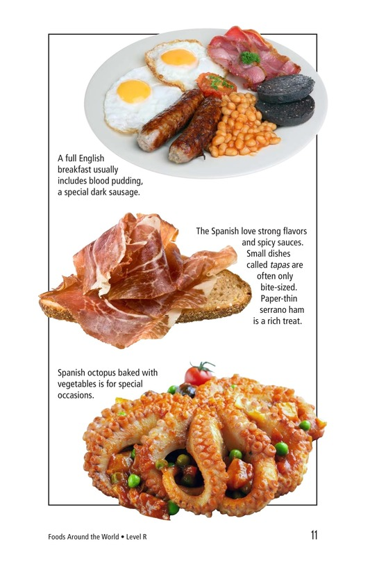 Book Preview For Foods Around the World Page 11