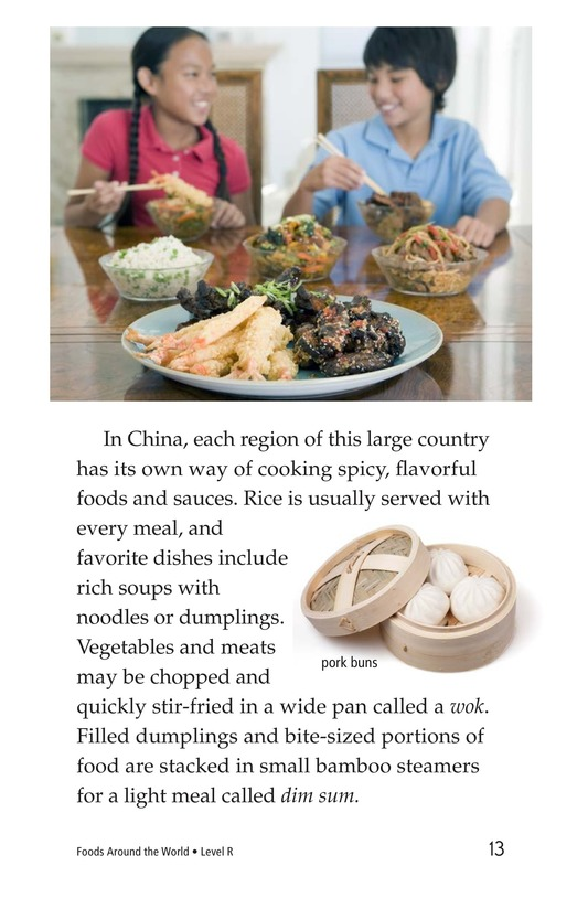 Book Preview For Foods Around the World Page 13