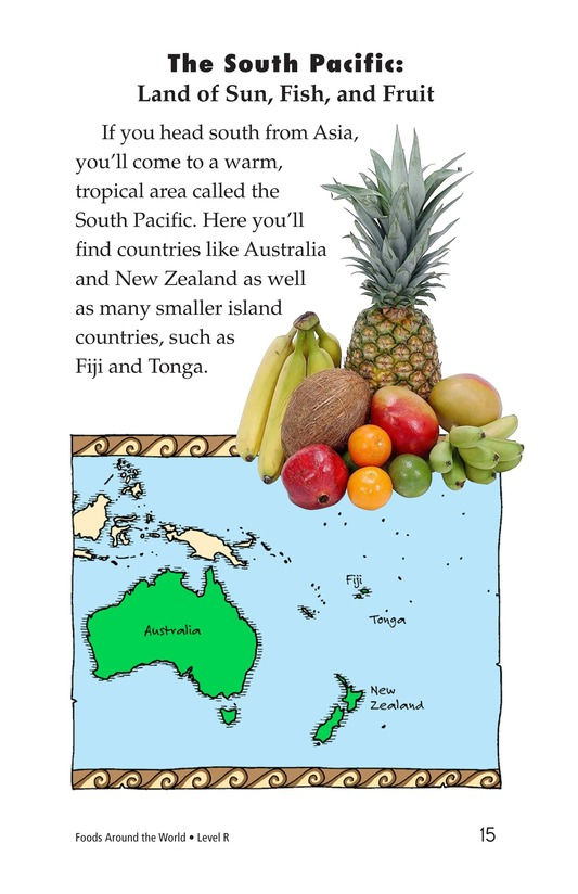 Book Preview For Foods Around the World Page 15