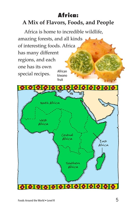 Book Preview For Foods Around the World Page 5
