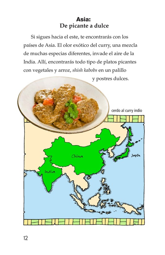 Book Preview For Foods Around the World Page 12