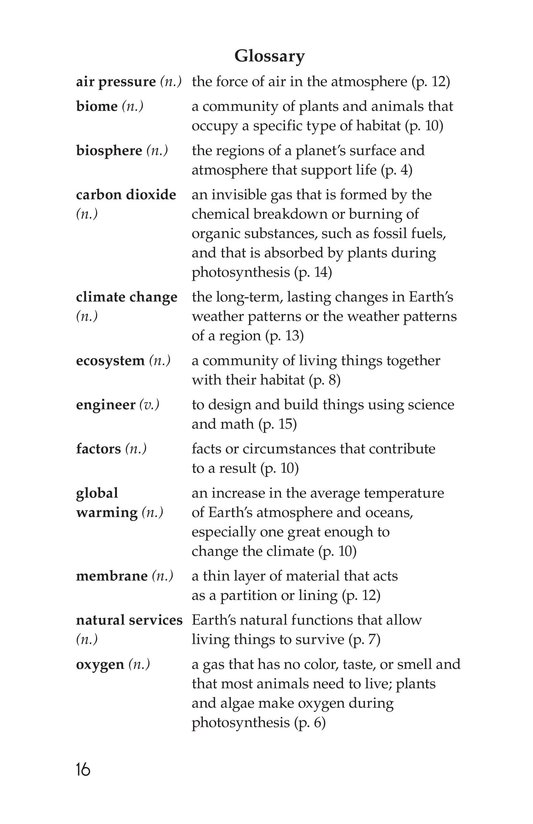 Book Preview For The University of Arizona College of Science Biosphere 2 Page 16