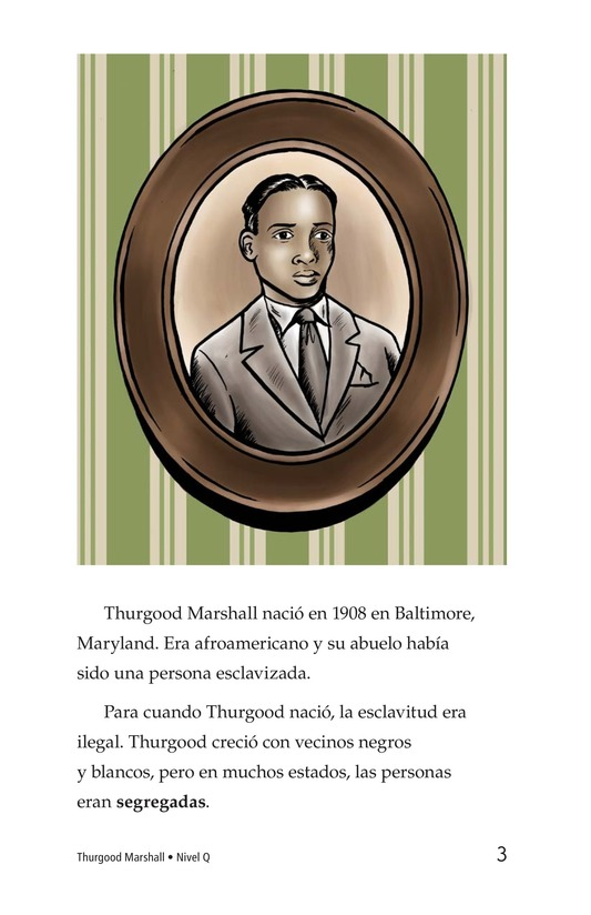 Book Preview For Good for Thurgood! Page 3