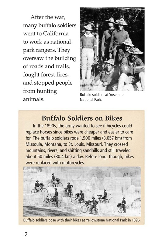Book Preview For The Buffalo Soldiers Page 12