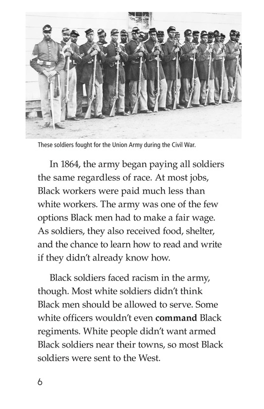 Book Preview For The Buffalo Soldiers Page 6
