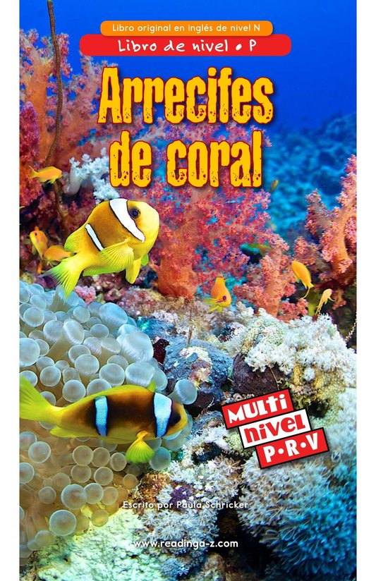 Book Preview For Coral Reefs Page 0