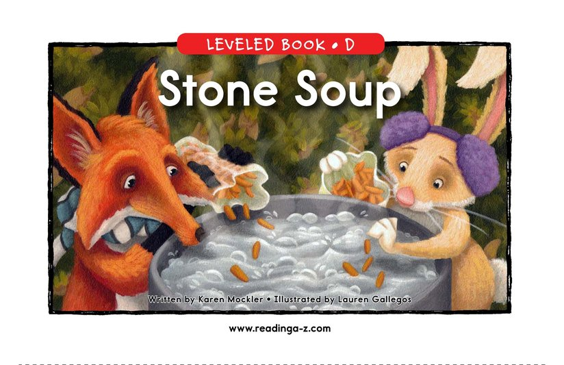 Book Preview For Stone Soup Page 1