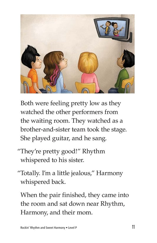 Book Preview For Rockin' Rhythm and Sweet Harmony Page 11