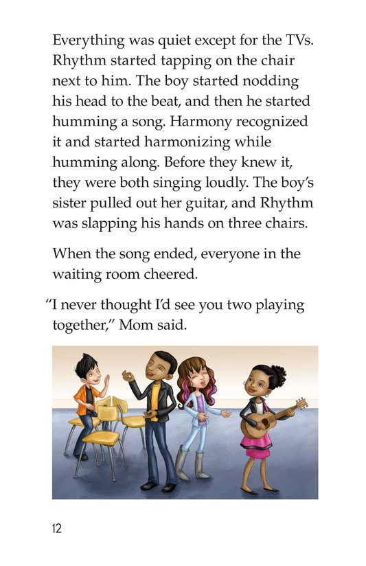 Book Preview For Rockin' Rhythm and Sweet Harmony Page 12
